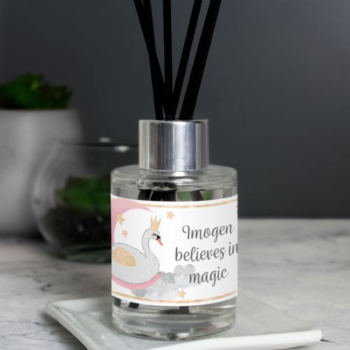 Personalised Swan Lake Reed Diffuser